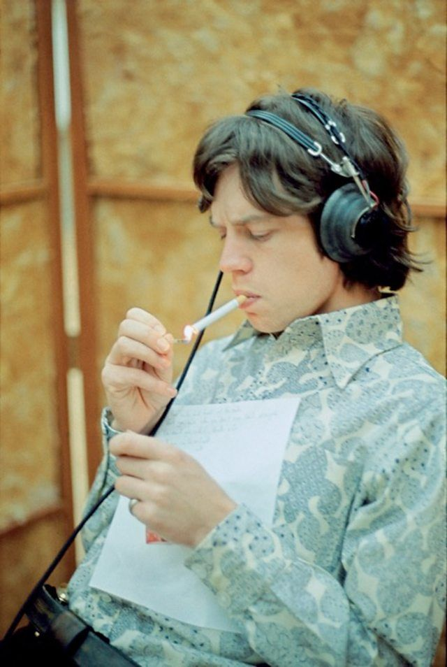 Mick Jagger RCA Studios Hollywood USA December 1965 © Gered Mankowitz