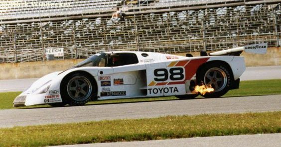 RSC Photo Gallery - Daytona 24 Hours 1989 - Toyota 88C no.98 - Racing Sports Cars