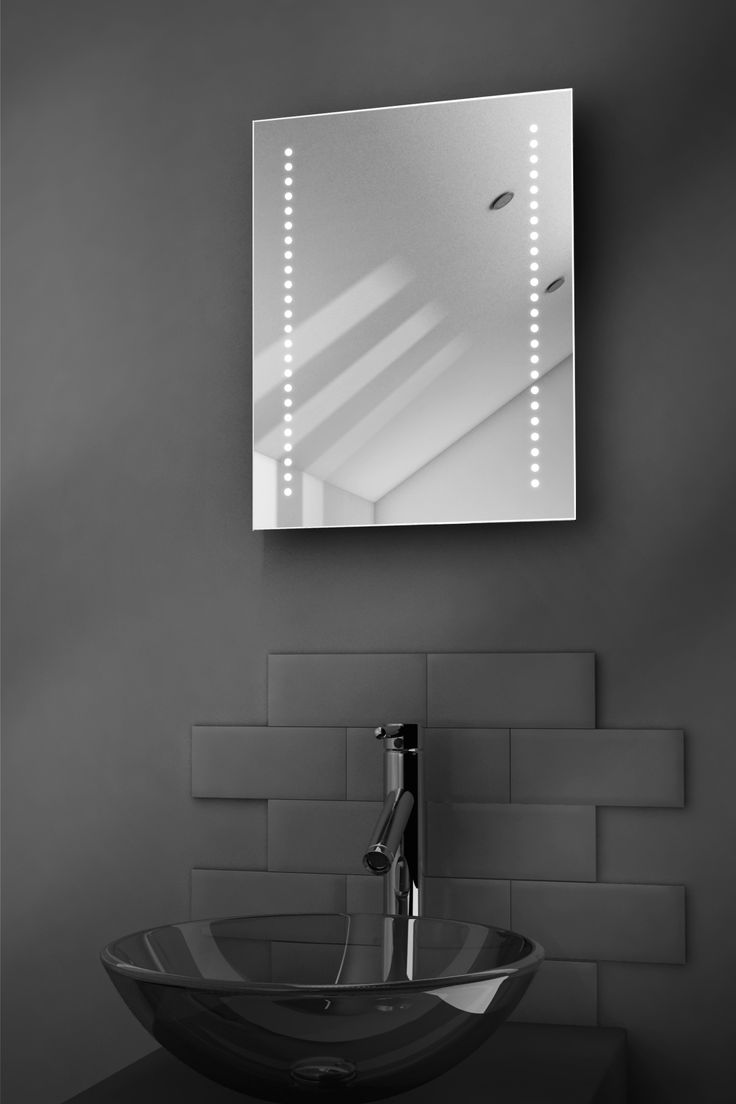 Backlit mirrors for bathrooms u s a together with boffis thirteen to - Reflect Ultra Slim Led Illuminated Bathroom Mirrors Size X X