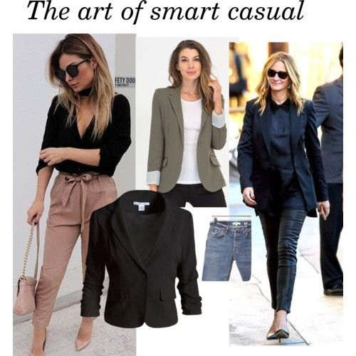 The art of smart casual dressing at work in 15 outfits