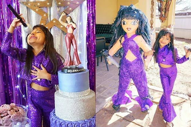 This 6-Year-Old Girl Had An Absolutely Amazing Selena-Themed Birthday Party