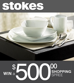 Win a $500 Shopping Spree from Stokes