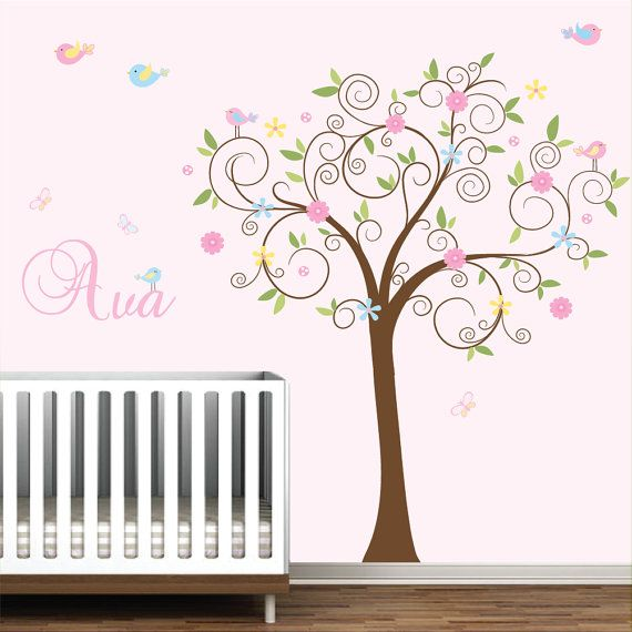 Wall Decal Stickers Vinyl Wall Art Nursery Decals by Modernwalls, $125.00