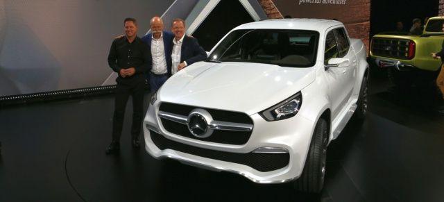 Mercedes-Benz Concept X-CLASS: Interviews mit Dr. Dieter Zetsche, Volker Mornhinweg und Gordon Wagener zum kommenden Mercedes-Benz Pickup - News - Mercedes-Fans - Das Magazin für Mercedes-Benz-Enthusiasten