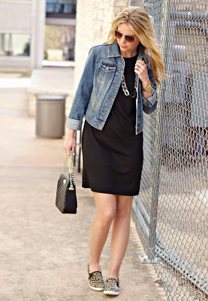 Leopard slip on sneakers - casual outfit ideas
