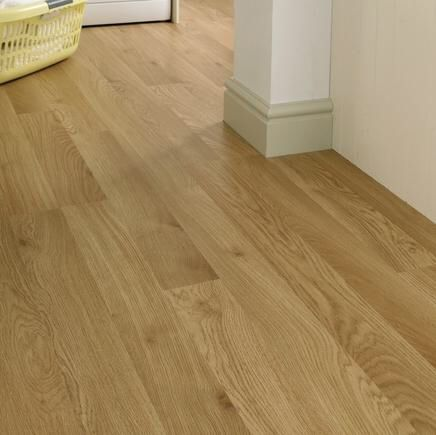 Howdens Oak professional flooring for hall, bathroom, two bedrooms & toilet.