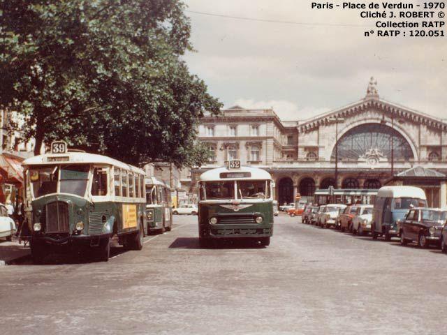 Paris - Autobus - 1961-1970