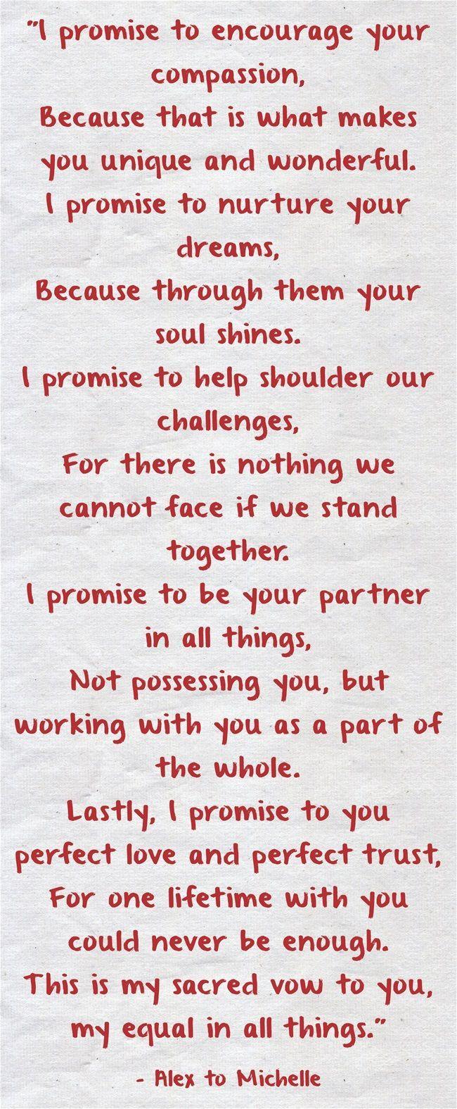 Wedding Vows » 25 Heart-melting Real Couple Wedding Vow Ideas to Make You Cry! #heartcandleswedding