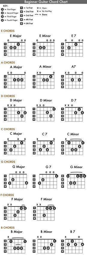 beginners guitar chords