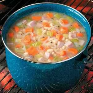 """CAMPFIRE HAM 'N' BEAN SOUP 