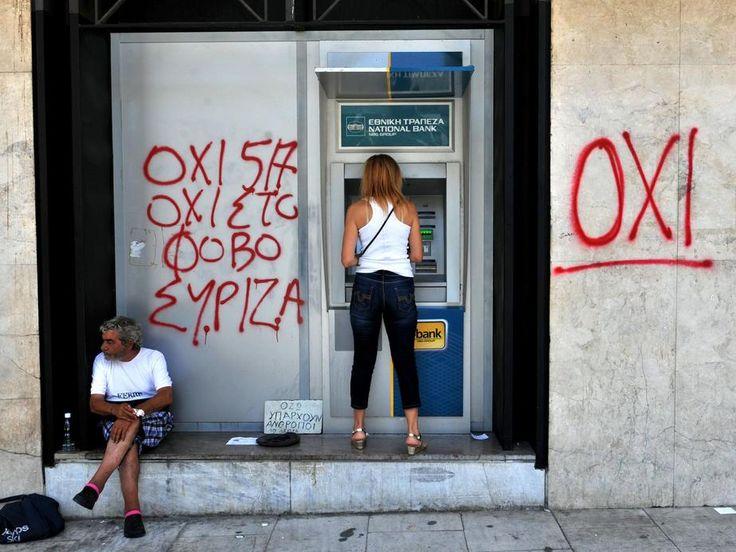 Am Tag danach. Am Montag nach dem Referendum fragen sich viele Griechen, wie es jetzt wohl weitergehen mag.