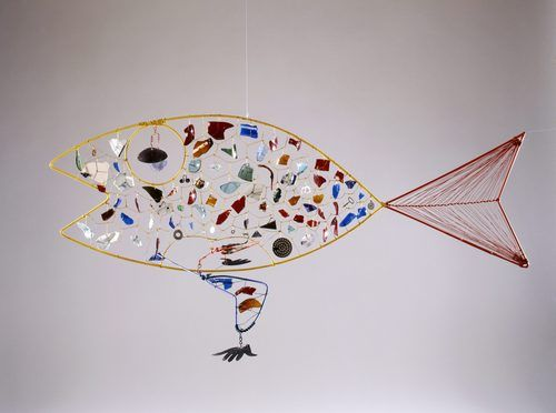 Alexander Calder :  Finny FishMetals Sculpture, Fish 1948, Alexander Calder, Calder Inspiration, Fish Art, Art Really, Artists Alexander, Finny Fish, American Artists