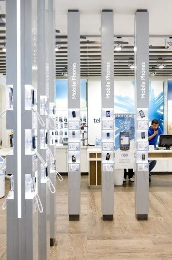 Phone Shop | Retail Design | Retail Display | Exhibit | Telecom