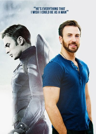 Chris Evans about Captain America...I think it's sort of sweet :)