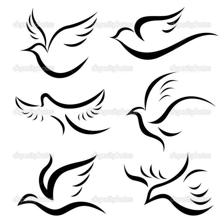 dessins d'oiseaux - Illustration: 9981517 Plus