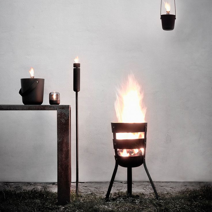 Norm Fire Basket - Norm - Menu - RoyalDesign.com #norm #firebasket #outdoor #outdoordesign #interiordesign #design #interior #fire #basket #menu #royaldesign