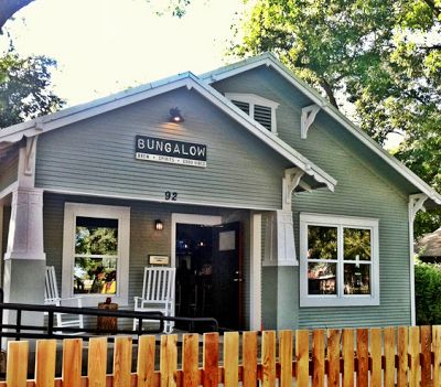 Bungalow Rainey Street Bars And Restaurants Austin Texas Austin Is Awesome Pinterest