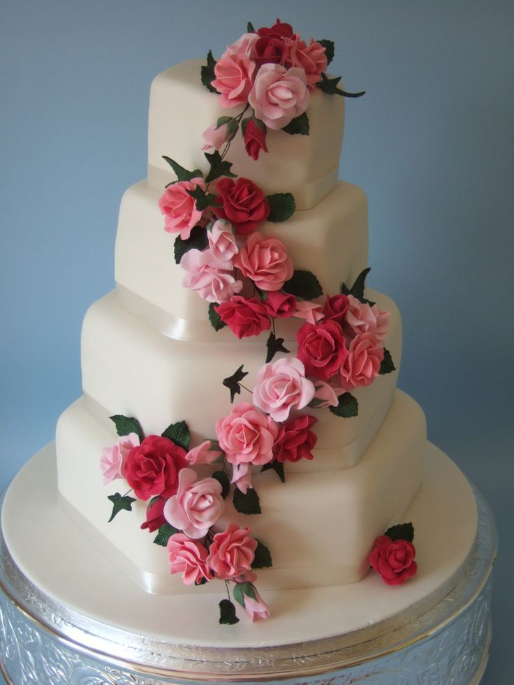 amazing wedding cakes with flowers the most beautiful wedding cakes most wedding 10736