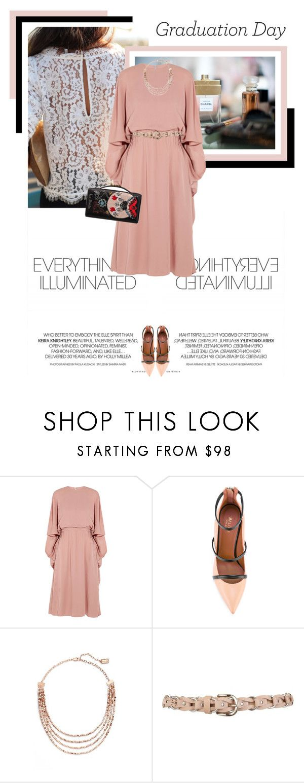 """""""Congrats, Grad: Graduation Day Style"""" by veronicamastalli ❤ liked on Polyvore featuring Valentino, Malone Souliers, Karine Sultan and Isabel Marant"""