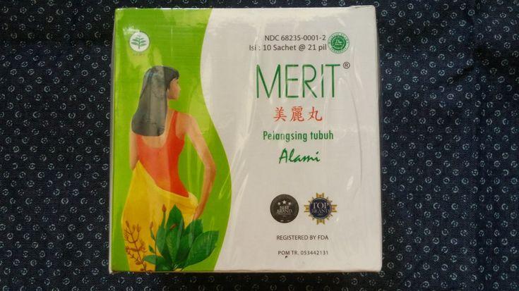 Jamu+Merit+Herbal+Slimming+Pills+10+sachets+@21+pills+(New+Packaging)