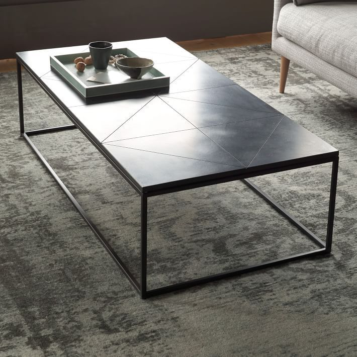 Best 25 granite coffee table ideas on pinterest granite for West elm geometric coffee table