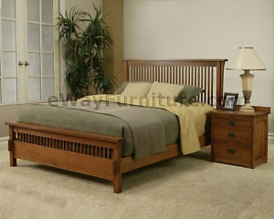 Best 25 oak bedroom ideas on pinterest bedrooms bedroom styles and bedroom themes for Queen mission style bedroom set