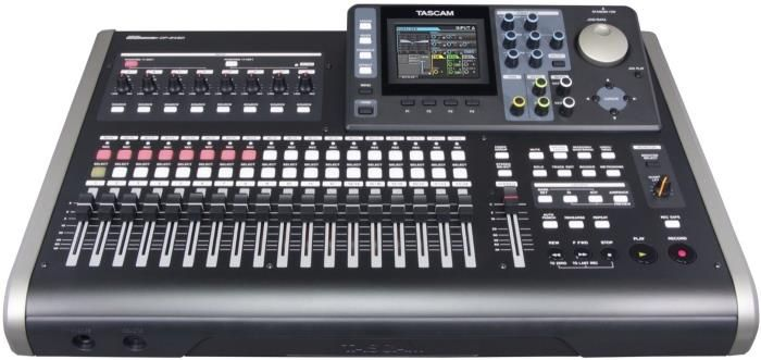 TASCAM DP-24SD 24-track Portastudio Digital Recorder