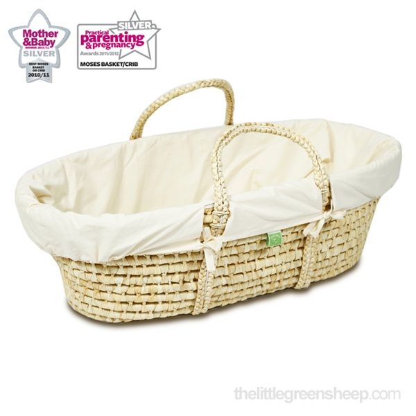 Organic maize moses basket
