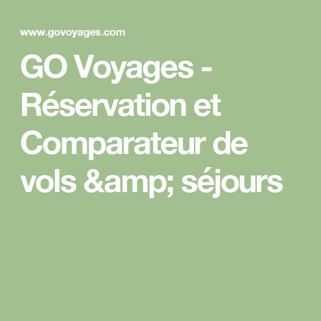 GO Voyages - Réservation et Comparateur de vols & séjours