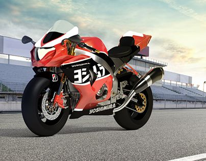 Motorcycle, 3D, Product Design, Spain, Marbella