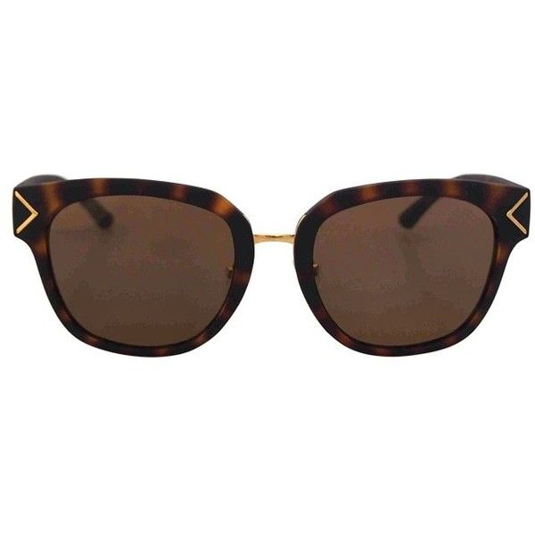 Tory Burch Women's TY9041 Tortoise ($99) ❤ liked on Polyvore featuring accessories, eyewear, sunglasses, green, green lens glasses, tortoise shell sunglasses, tortoise glasses, tortoiseshell sunglasses and tortoise sunglasses