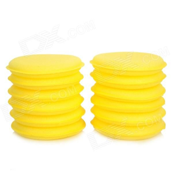 Quantity: 12 piece(s); Type: Car Washes & Cleaners; Material: Sponge; Color: Yellow; Function: Ideal for car cleaning / detailing / valeting; Other Features: Soft, easy to scrub and without crumbs; Both sides of the sponge can be used; Packing List: 12 x Sponges; http://j.mp/1q0fTDl