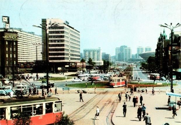 Katowice, rynek w czasach PRL