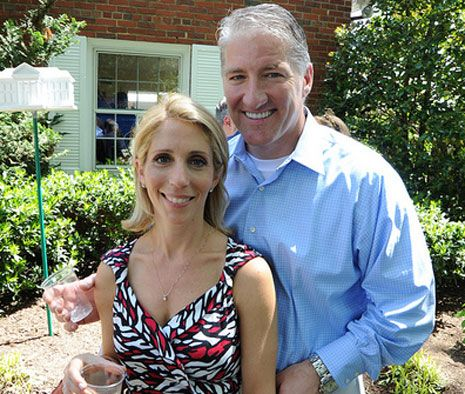 John King and Dana Bash (husband and  wife who work for CNN) -- love them!