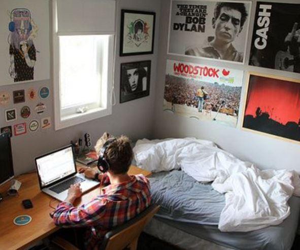 20 Items Every Guy Needs For His Dorm Society19 Guy Dorm Guy Dorm Rooms Single Dorm Room