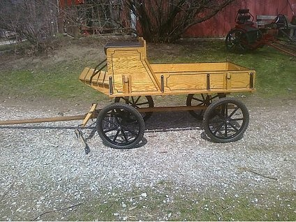 New miniature horse hitch wagon
