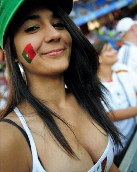 Think, that World cup fans hot girls