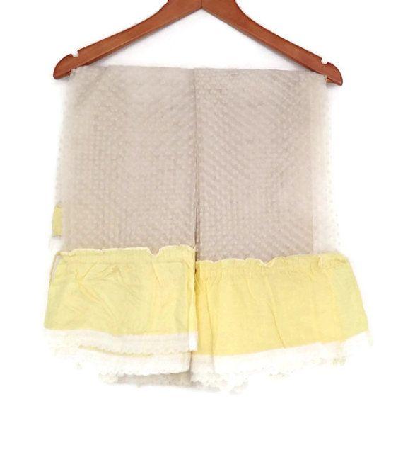 White Vintage Kitchen Curtains: Vintage Kitchen Curtains, Dacron And Cotton, Sheer Dotted