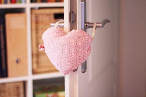 DIY Türstopper Herz - Mopenga - Kinderklamöttchen & co