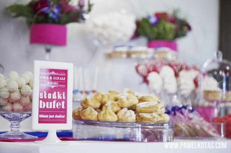 Słodki Bufet Weselny, Stół ze Słodyczami