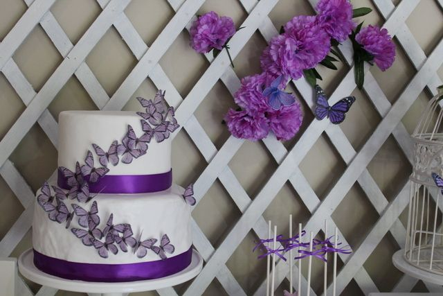 Butterfly Party - Purple and White Birthday Party Ideas