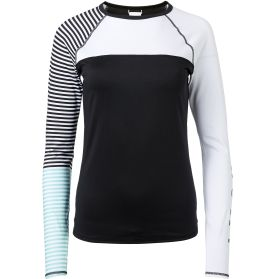 Roxy Women's Stripe Long Sleeve Rash Guard | DICK'S Sporting Goods
