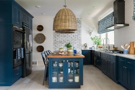 See the transformation of HGTV's bungalow escape in a series of photos. We capture the dramatic remodel, space by glorious space.