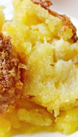 Pineapple Souffle Bake