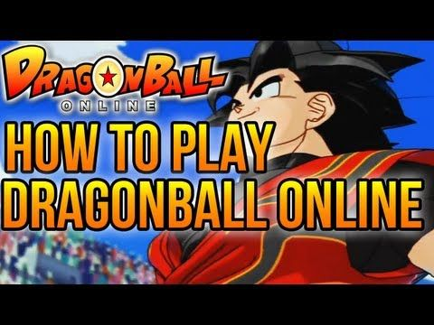 DBO  How to play dragon ball online  YouTube