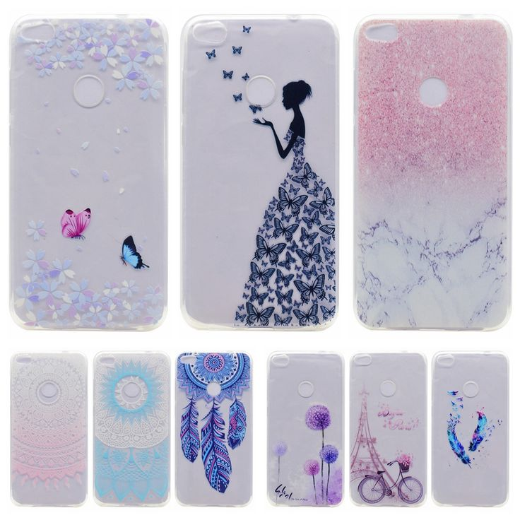 Coque sFor Huawei Ascend P8 Lite 2017 Case Slim Transparent Silicon Back Cover for Fundas Huawei Nova Lite Soft TPU Phone Cases