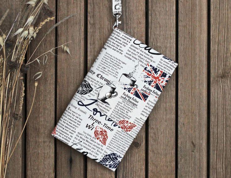 London wallet card holder passport men wallet family passport holder travel accessories cotton mens wallet passport holder case + Free gift! by KodamaLife on Etsy