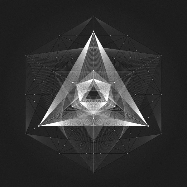 Shape And Space Artwork : Geometric spaces on behance personal work pinterest