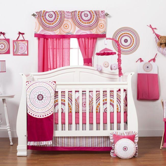 91 best Baby Girl Crib Bedding images on Pinterest Baby girl