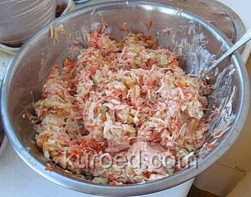 Зимний салат из моркови и сельдерея